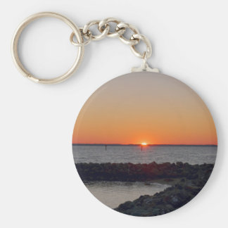James River Sunset Keychain