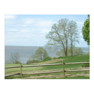 James River, Virginia, USA - postcard