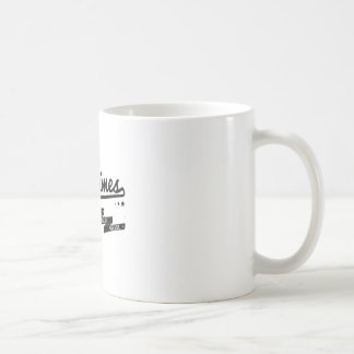 James - Sometimes Lyrics Retro Inspired Coffee Mug