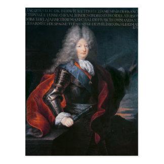 James Stuart Fitzjames  1st Duke of Berwick Postcard