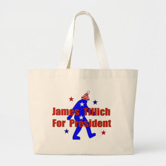 James Tillich For President Large Tote Bag