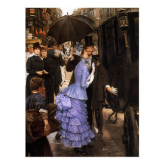 James Tissot The Bridesmaid Postcard