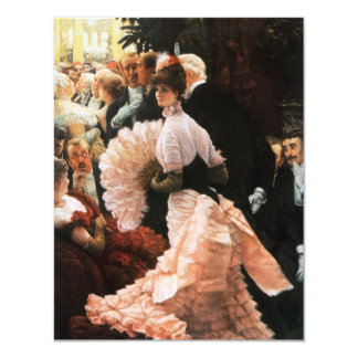 James Tissot The Political Lady Invitations