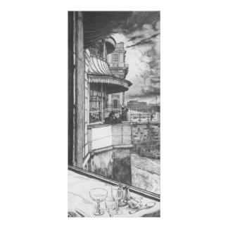 James Tissot Trafalgar Tavern Custom Rack Card