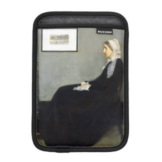 JAMES WHISTLER - Arrangement in grey and black iPad Mini Sleeve