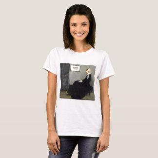 JAMES WHISTLER - Arrangement in grey and black T-Shirt