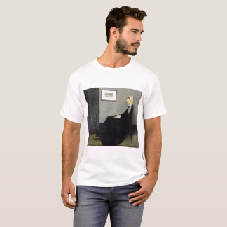 JAMES WHISTLER - Arrangement in grey and black T-Shirt