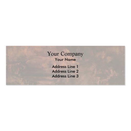 James Whistler-Brown & Gold: Portrait of Lady Eden Business Cards
