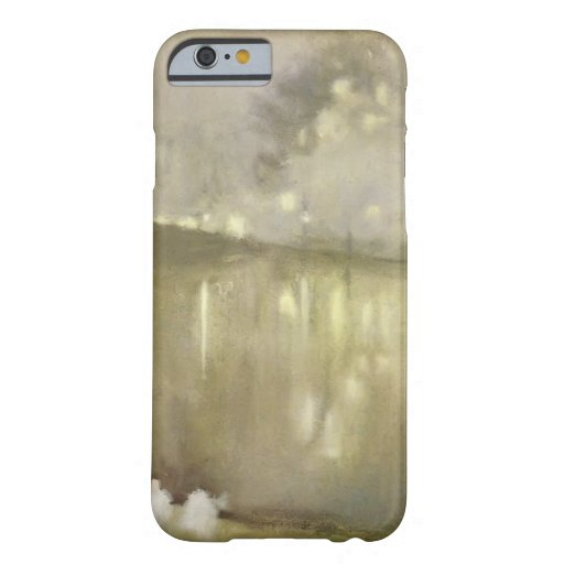 James Whistler : Gris de nocturne et or - canal Coque iPhone 6 Barely There