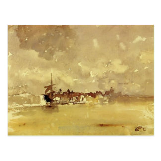 James Whistler: The Sunny Shower - Dordrecht Postcard