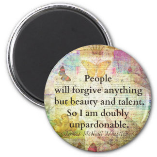 JamesMcNeillWhistlerWhimsical Confidence humourous Magnet