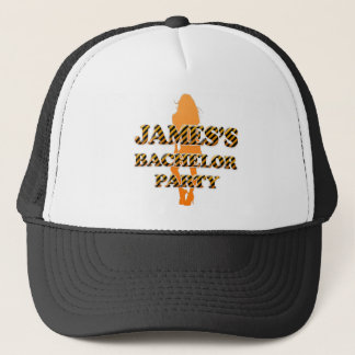 James's Bachelor Party Trucker Hat