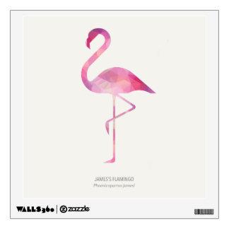 James's Flamingo Wall Sticker