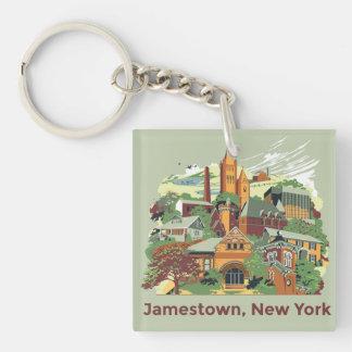 Jamestown Architecture Keychain