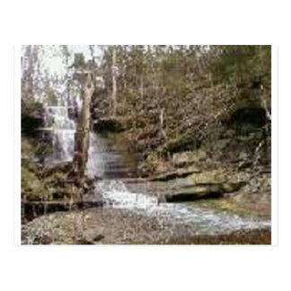 Jamestown Falls Postcard