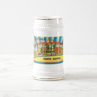 Jamestown North Dakota ND Vintage Travel Souvenir Beer Stein