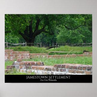Jamestown Settlement Poster