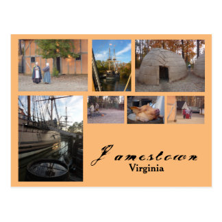 Jamestown (Virginia) Postcard