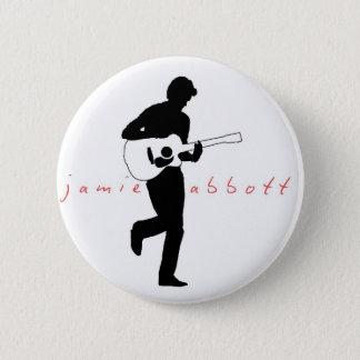 Jamie Abbott Classic Badge 2 Inch Round Button