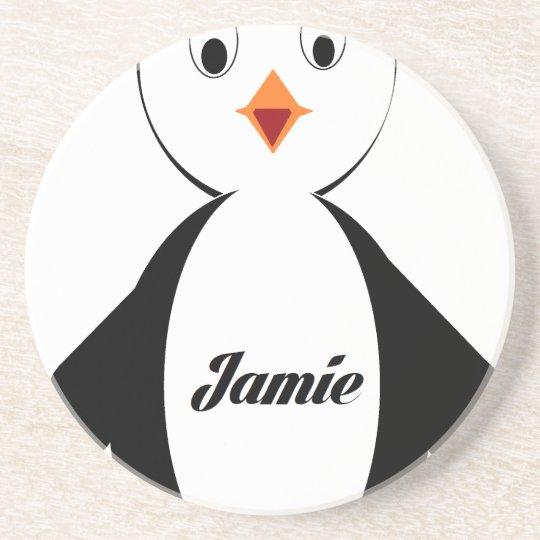 Jamie Penguin Coaster