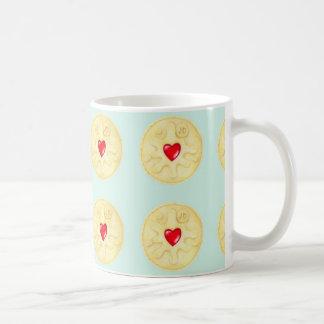 Jammie Dodger Biscuit Pattern Mug