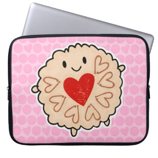 Jammie Dodger Watercolour Laptop Sleeves