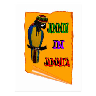 Jammin' in Jamaica Postcard