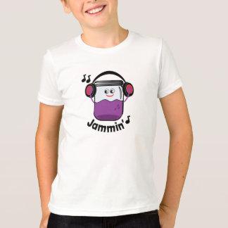 Jammin' Jam Jar With Headphone T-shirt