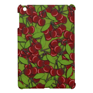 Jammy Cherry pattern Cover For The iPad Mini