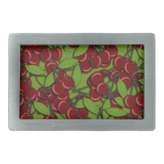 Jammy Cherry pattern Rectangular Belt Buckles