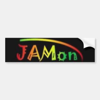 jamon bumper sticker