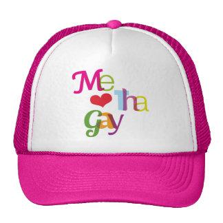 J'amour le chapeau gai de gay pride d'amusement casquette