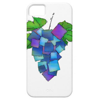 Jamurissa - square grapes case for the iPhone 5