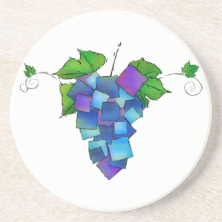 Jamurissa - square grapes coaster