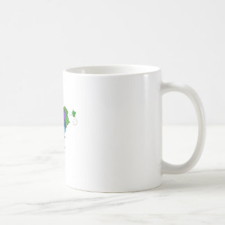 Jamurissa - square grapes coffee mug