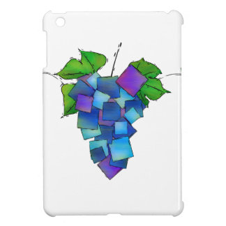 Jamurissa - square grapes iPad mini cover