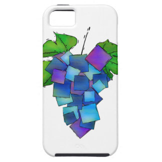 Jamurissa - square grapes iPhone 5 covers