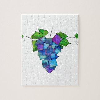 Jamurissa - square grapes jigsaw puzzle
