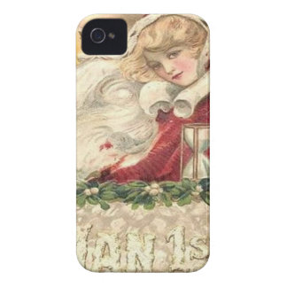 Jan 1st Old Father Time New Year Case-Mate iPhone 4 Case