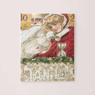 Jan 1st Old Father Time New Year Jigsaw Puzzle