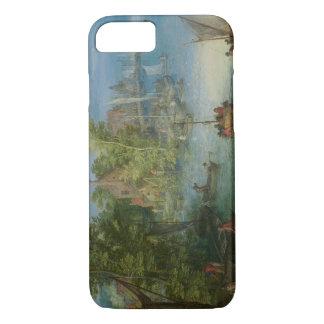 Jan Brueghel the Elder - River Landscape iPhone 7 Case