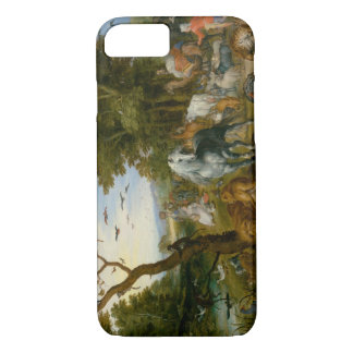 Jan Brueghel the Elder - The Entry of the Animals iPhone 7 Case