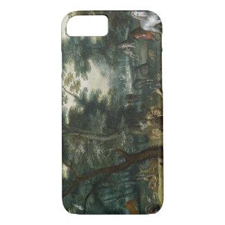 Jan Brueghel the Younger - Paradise Landscape iPhone 7 Case