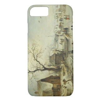 Jan Brueghel the Younger - Villagers on the Ice iPhone 7 Case
