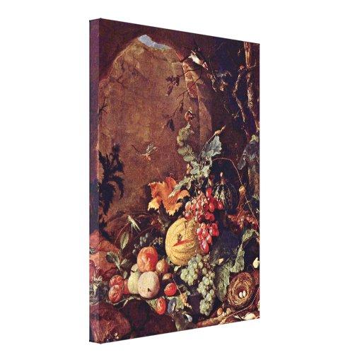 Jan Davidsz de Heem - Large Still Life Canvas Print