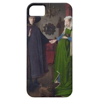 Jan Eyck- The Arnolfini Wedding iPhone 5 Cover