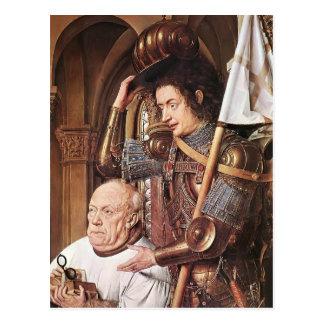 Jan Eyck- The Madonna of Canon van der Paele Postcard