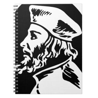 Jan Hus Spiral Notebook