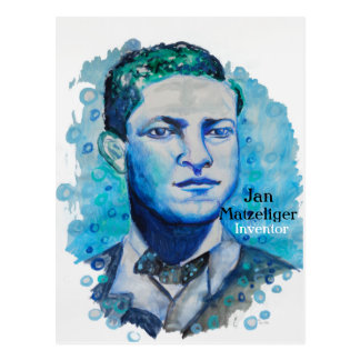 Jan Matzeliger -Black Inventor Postcard