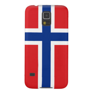 Jan Mayen Island Flag Galaxy S5 Cases